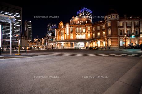 東京駅舎の写真素材 [FYI00139635]