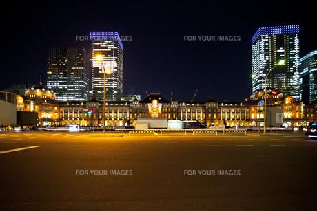 東京駅舎の写真素材 [FYI00139647]