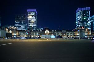東京駅舎の写真素材 [FYI00139650]