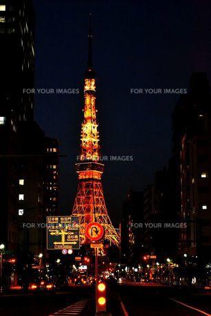 東京タワーの写真素材 [FYI00139730]
