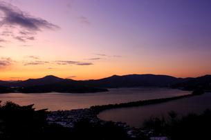 天橋立の朝日の写真素材 [FYI00140918]