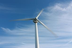 青空と風車の素材 [FYI00141023]