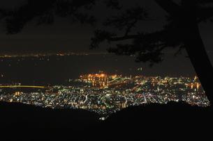 夜景の写真素材 [FYI00141094]