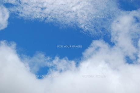 朝霧ジャムの空の写真素材 [FYI00142207]