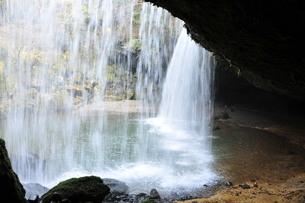 裏見の滝の写真素材 [FYI00142299]