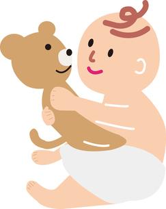 遊ぶ赤ちゃんの写真素材 [FYI00142338]