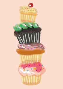 カップケーキの写真素材 [FYI00142457]