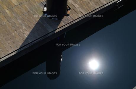 桟橋の写真素材 [FYI00142540]