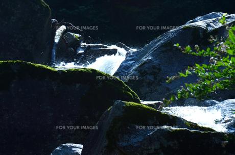 谷の岩の素材 [FYI00142781]