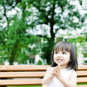 笑顔の可愛いハーフの少女の素材 [FYI00143196]