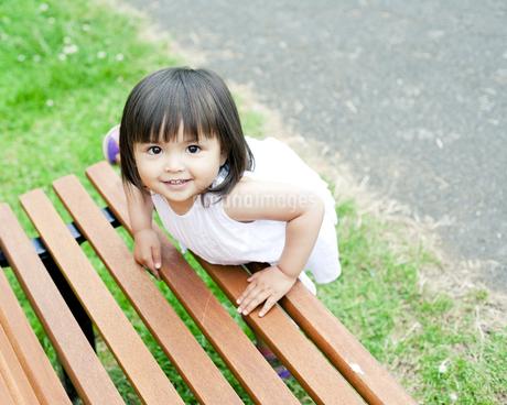 笑顔の可愛いハーフの少女の素材 [FYI00143199]