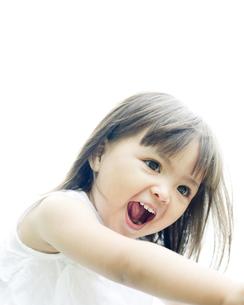 笑顔の可愛いハーフの少女の素材 [FYI00143201]