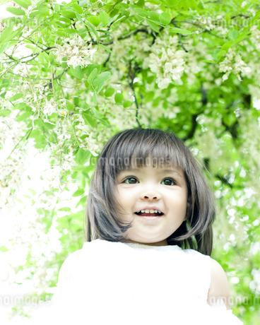 笑顔の可愛いハーフの少女の素材 [FYI00143209]