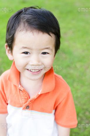 笑顔の男の子の素材 [FYI00143214]
