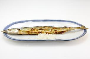サンマの塩焼きの写真素材 [FYI00143690]