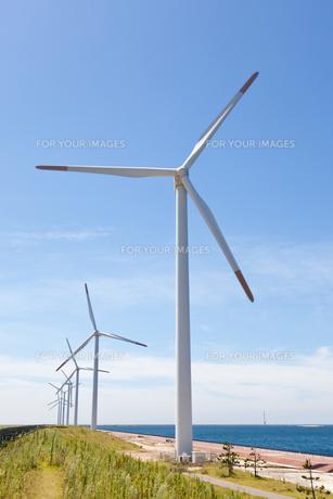 風力発電所の素材 [FYI00144095]