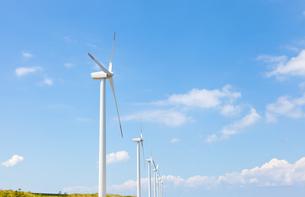 風力発電所の素材 [FYI00144130]