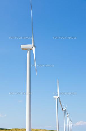 風力発電所の素材 [FYI00144143]