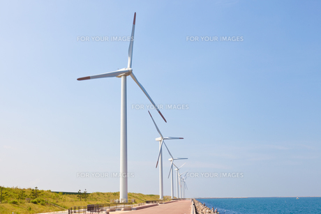 風力発電所の素材 [FYI00144149]