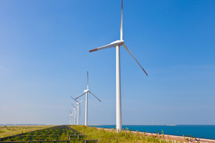 風力発電所の素材 [FYI00144161]