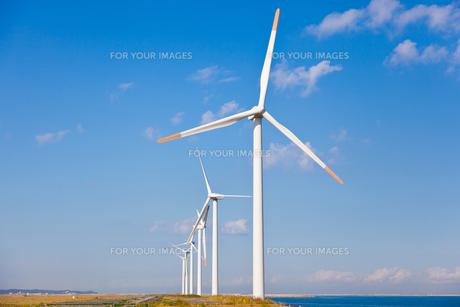 風力発電所の素材 [FYI00144183]