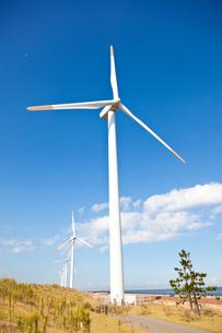 風力発電所の素材 [FYI00144188]