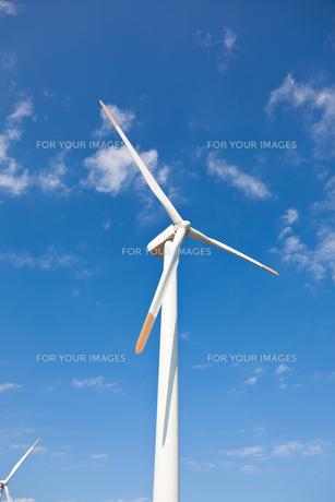 風力発電機の写真素材 [FYI00144199]