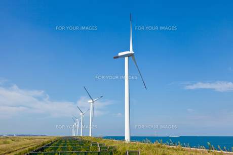 風力発電所の素材 [FYI00144215]