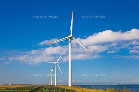 風力発電所の素材 [FYI00144224]