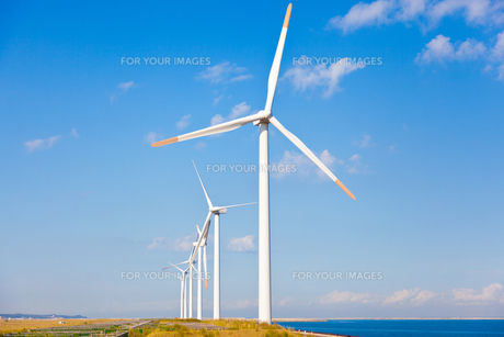 風力発電所の素材 [FYI00144225]