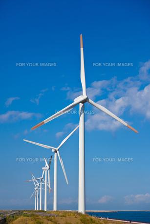 風力発電所の素材 [FYI00144231]