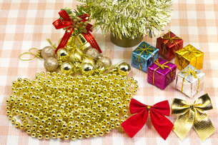 クリスマスのデコレーションの写真素材 [FYI00144280]