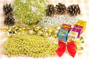 クリスマスのデコレーションの写真素材 [FYI00144308]