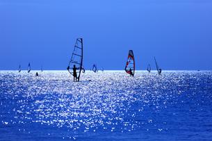 ウィンドサーフィンの写真素材 [FYI00144796]