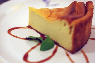 N.Yチーズケーキの写真素材 [FYI00144837]