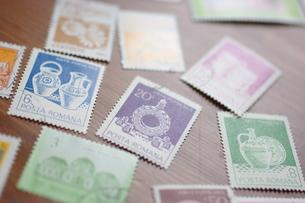 外国の古い切手の写真素材 [FYI00144858]
