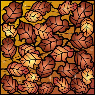 敷き詰めた枯葉の写真素材 [FYI00144867]