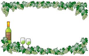 白ワインと白ぶどうの写真素材 [FYI00144878]