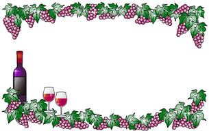 赤ワインと赤ぶどうの写真素材 [FYI00144879]