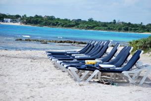 カリブ海の浜辺の写真素材 [FYI00145143]