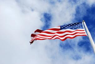 星条旗の写真素材 [FYI00145152]