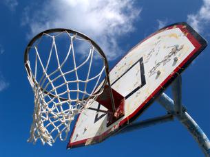 バスケットリングの写真素材 [FYI00145185]