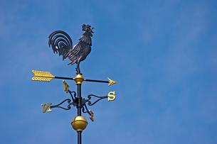 風見鶏(コピースペース付)の写真素材 [FYI00145277]