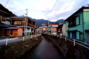 懐かしい故郷 (ミニチュアライズド撮影)の写真素材 [FYI00145468]