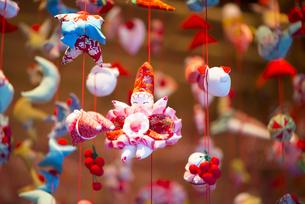ひな祭り つるし雛の写真素材 [FYI00145509]