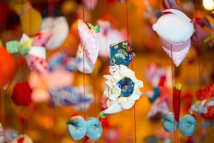 ひな祭り、つるし雛の素材 [FYI00145512]