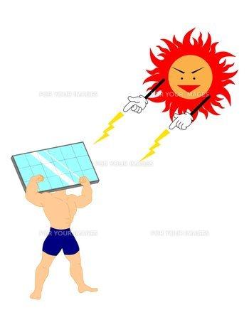 ソーラーパネルの素材 [FYI00145599]