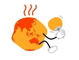 地球温暖化の素材 [FYI00145607]