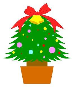 クリスマスツリーの素材 [FYI00145622]