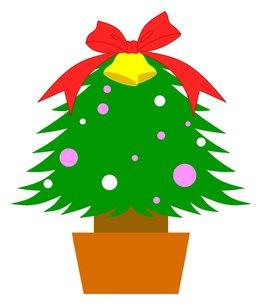 クリスマスツリーの写真素材 [FYI00145644]